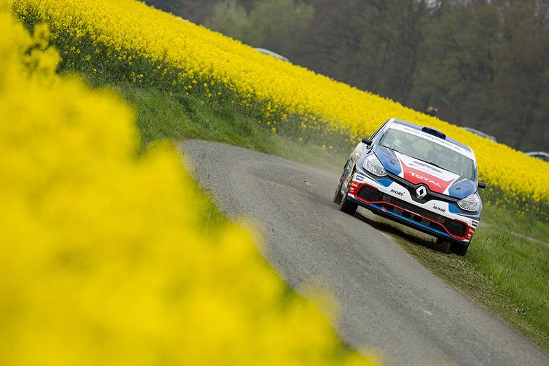 Renault Clio R3T-Pilot Carsten Mohe reist als Führender in der 2WD-Wertung zum Heimspiel bei der AvD Sachsen Rallye